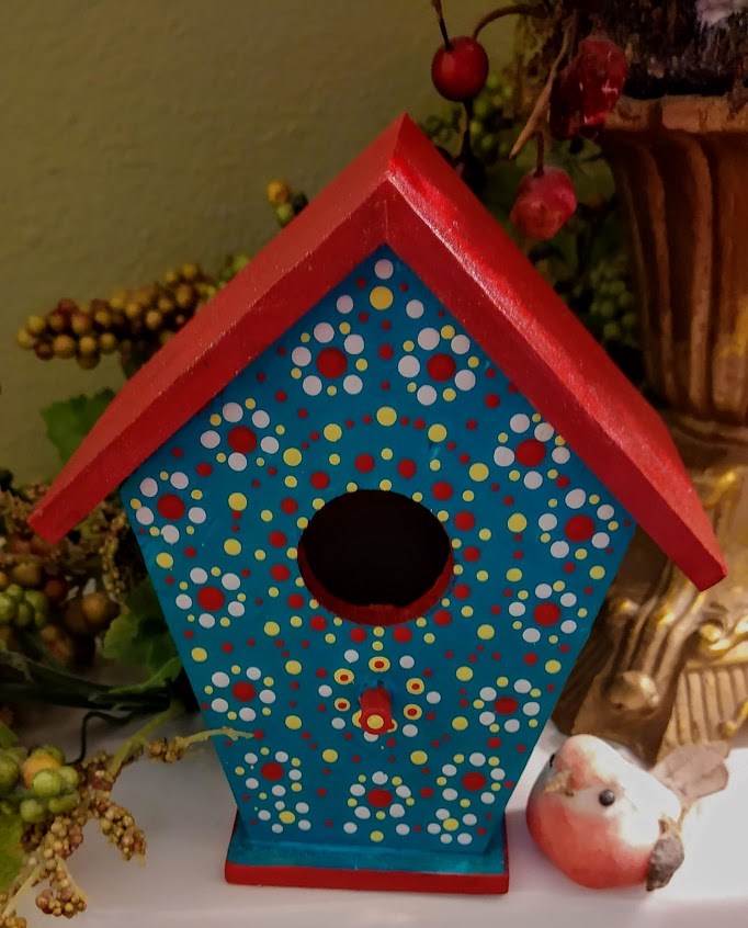 mini Bird House - perfect for Bath, Kitchen, Shelves…2/$35