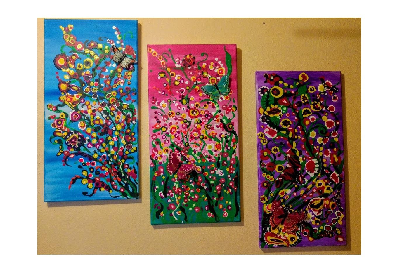 $40 Drippin' Dots 3D Butterfly (1)
