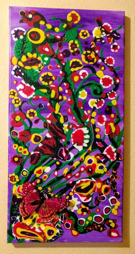 $40 Drippin' Dots 3D Butterfly
