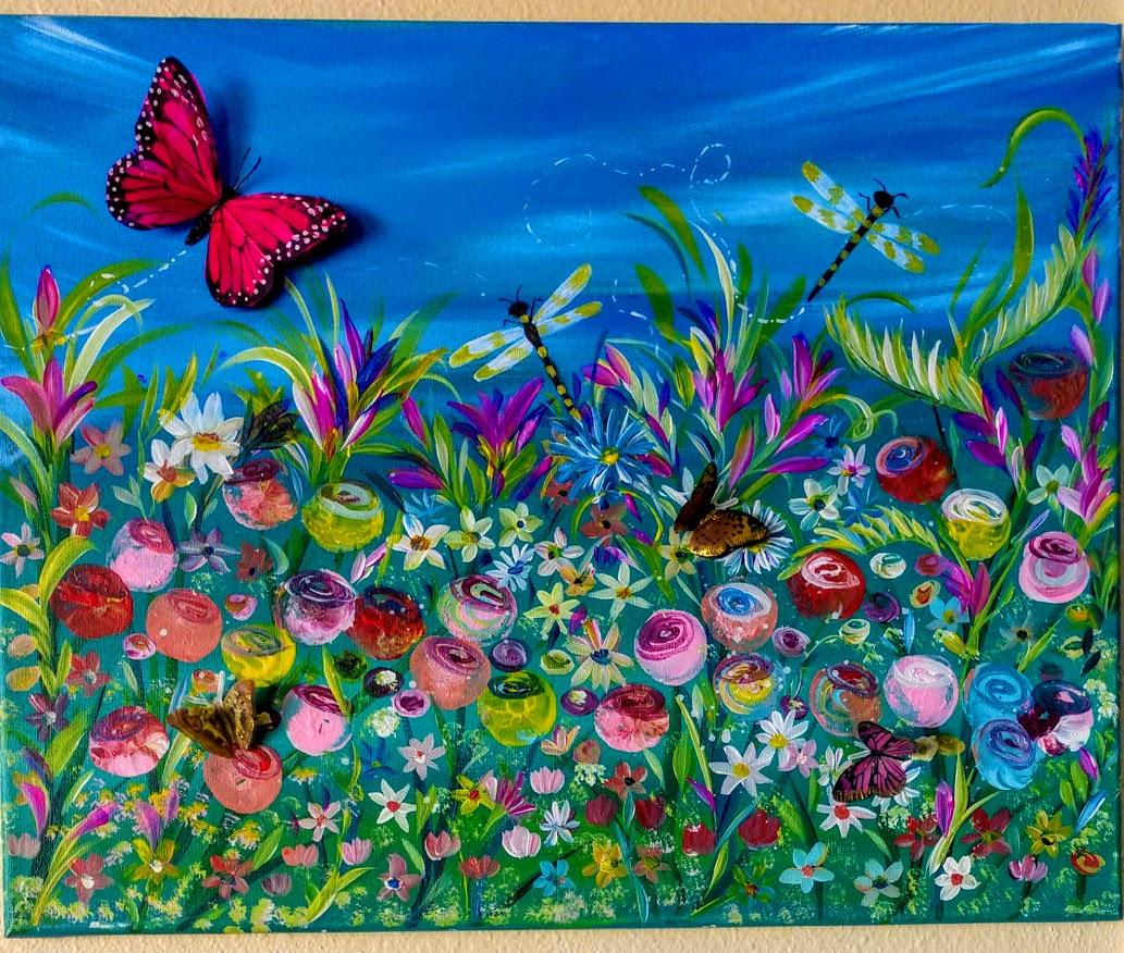 3D Butterfly Garden $40