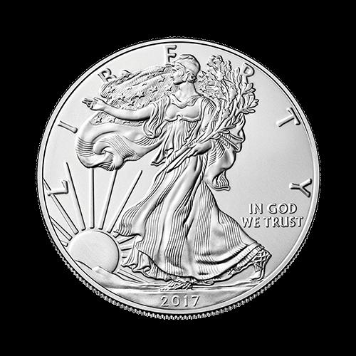 1 Ounce American Eagle Silver Coin