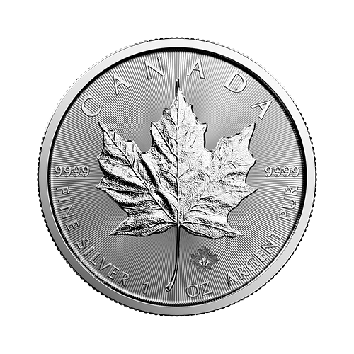 1 Ounce Canadian Maple Leaf Silver Coin