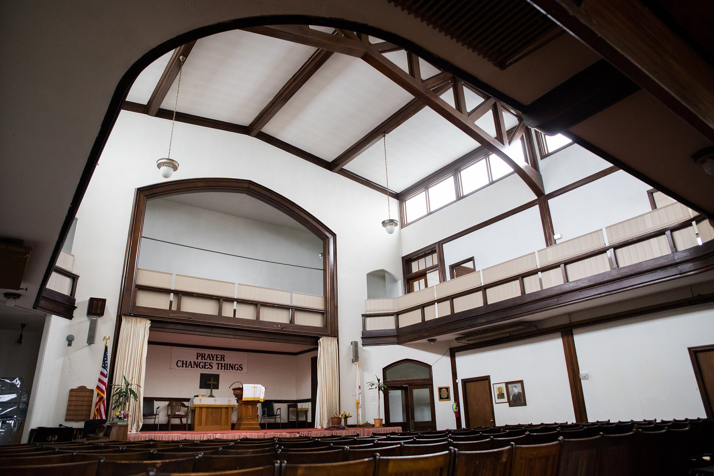 <strong>Wharton-Wesley United Methodist Church</strong><br/>Credit: Chris Kendig Photography