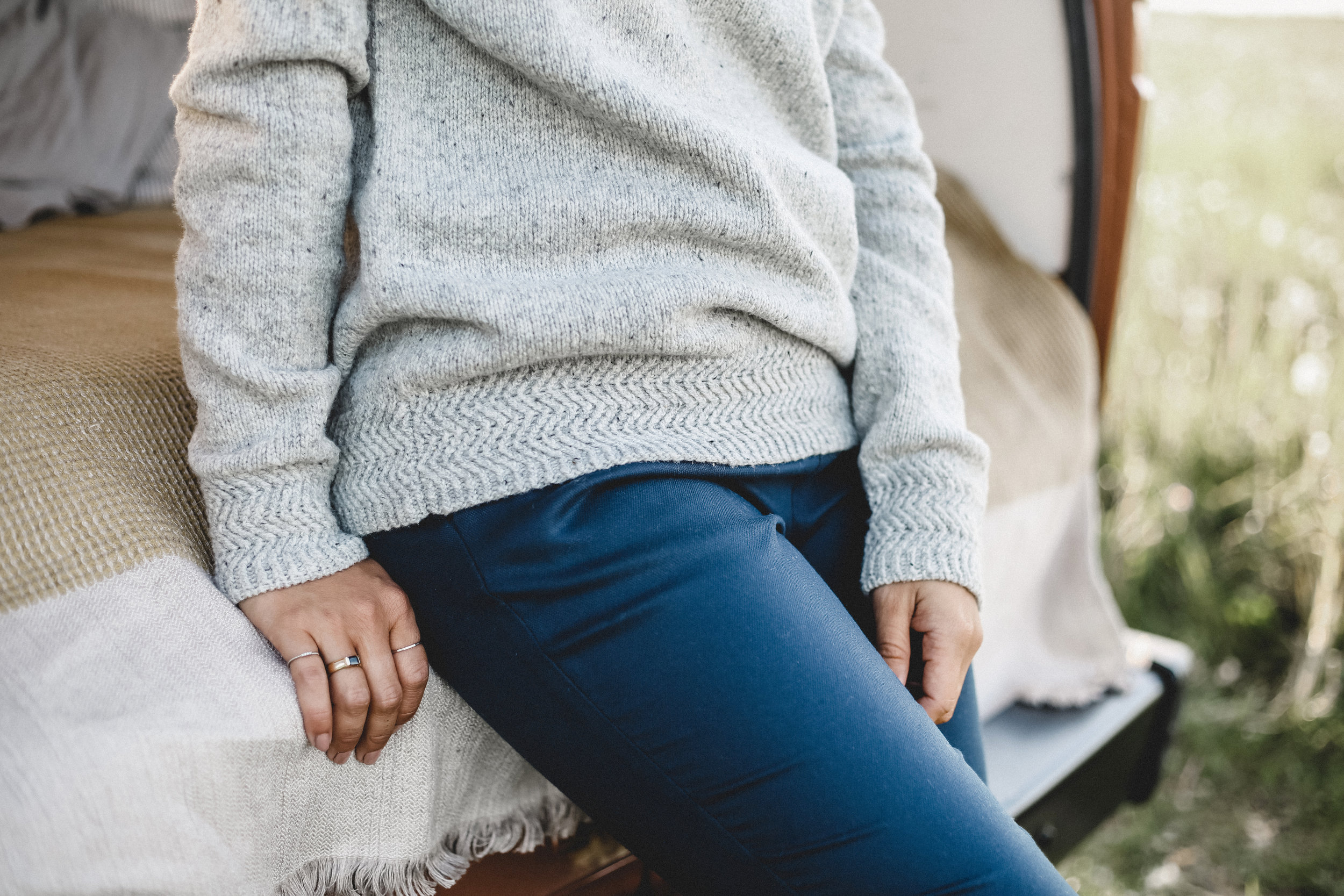Bornholm Sweater by Verena Cohrs for TRAVEL