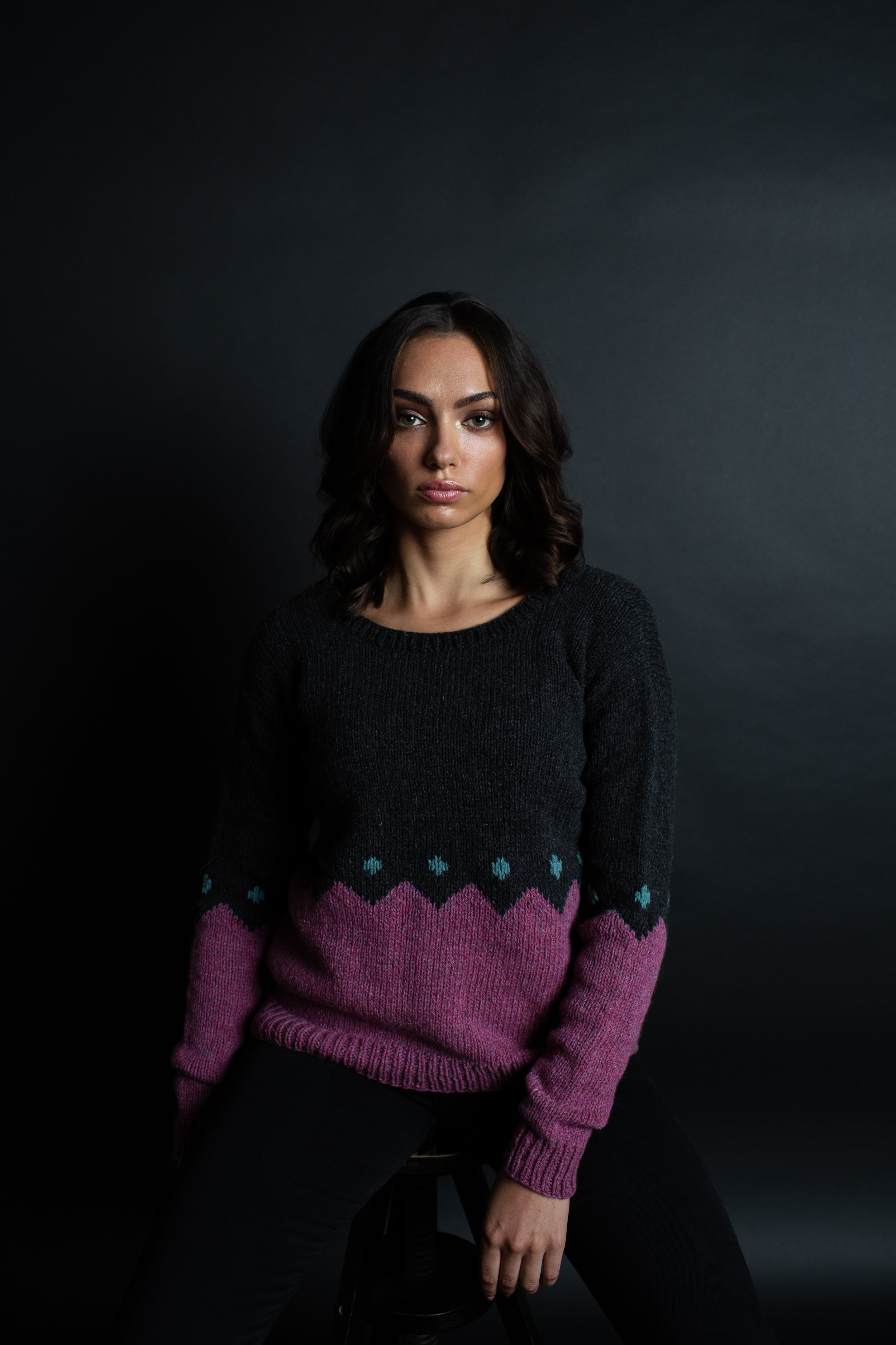 Tourmaline Pullover by Heike Campbell for JEWELS by Making Stories