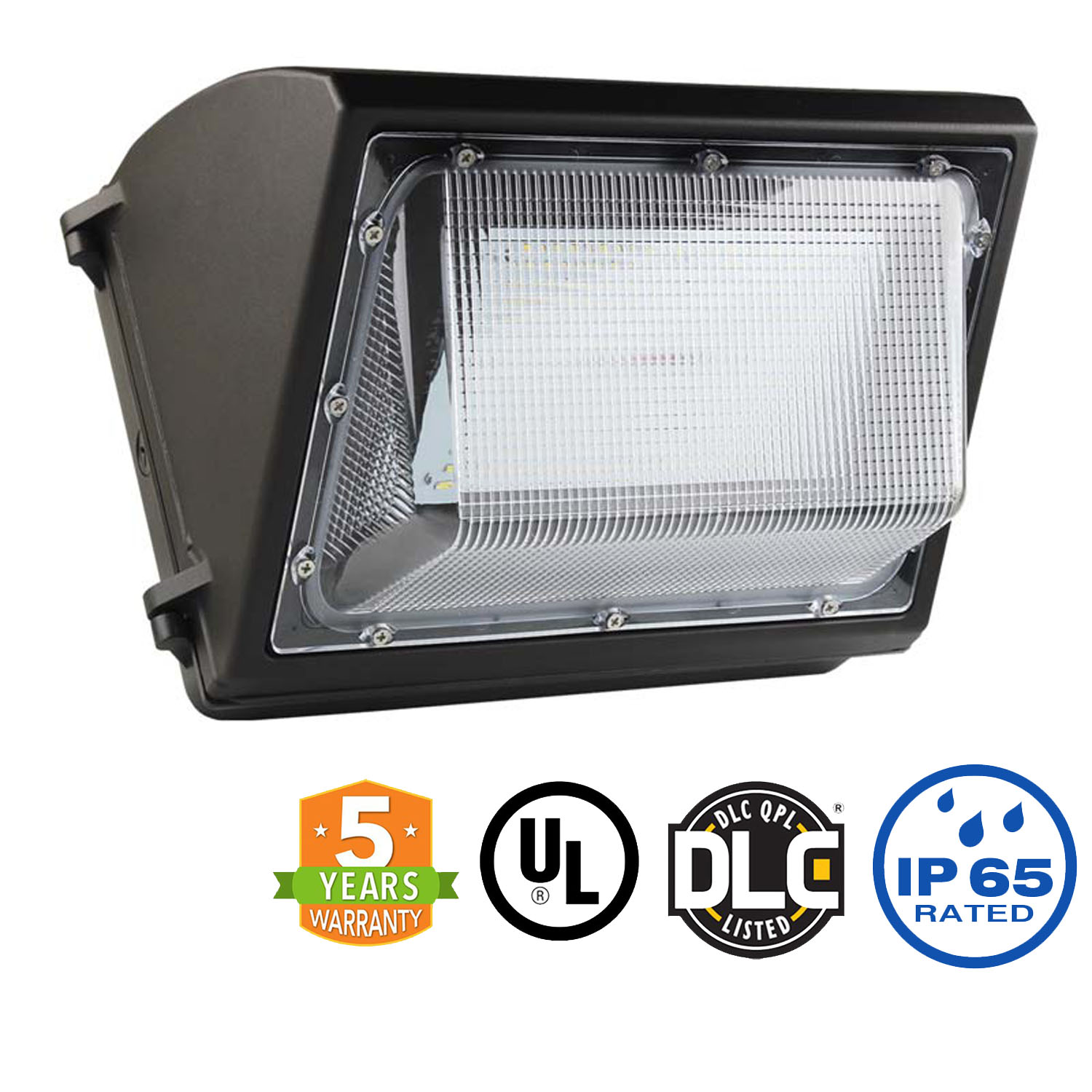 Wall Pack 55w / 6,875 Lumens $103.50 - 80w 100w & 120w also available
