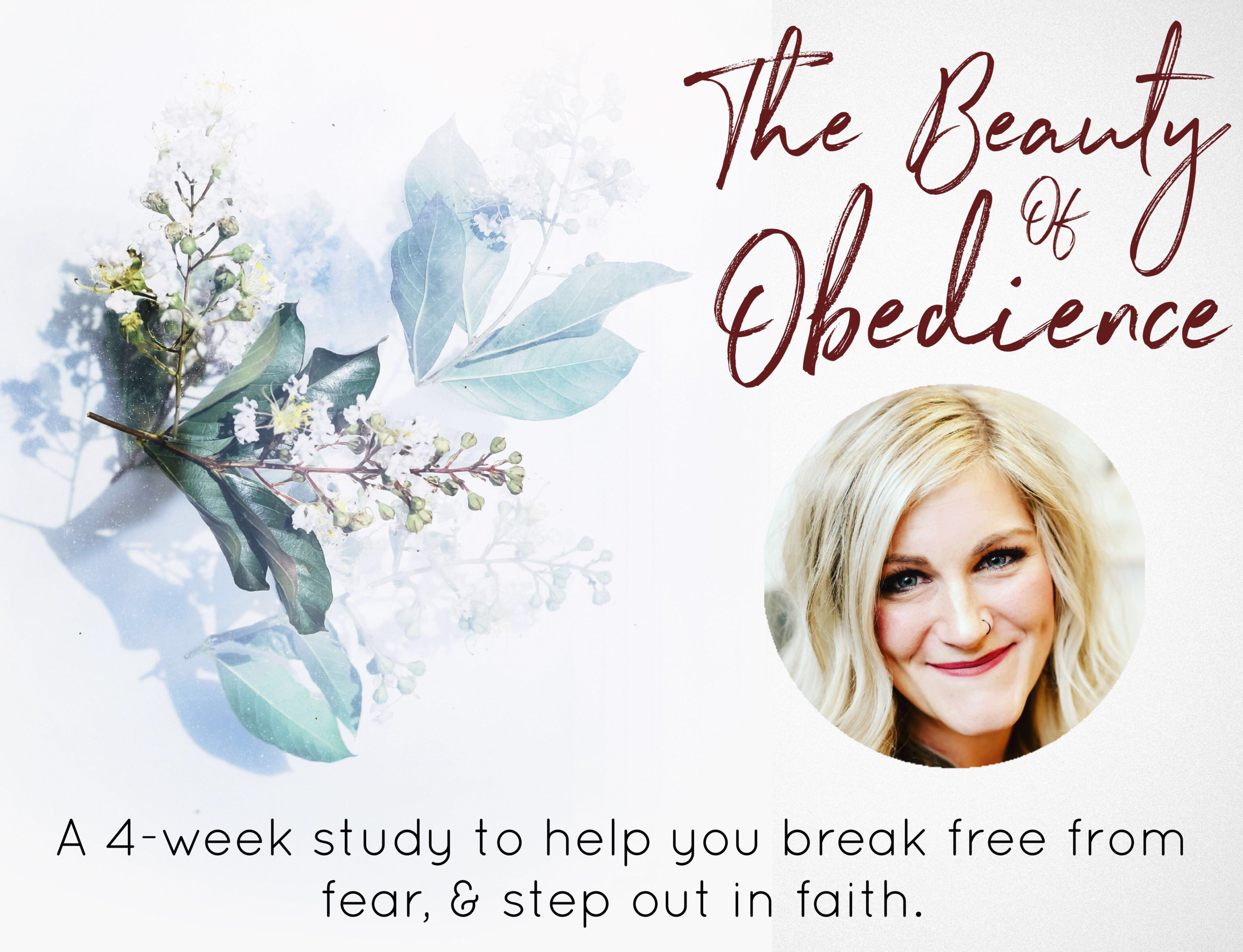 The Beauty of Obedience - Write a book, start a blog, podcast, or business, lose the weight, share your faith, get unstuck, step into your calling…We all have things we want to do in life. Maybe even things we feel called to do by God, but fear and doubt keep us from accomplishing those things.I want to invite you to join me in this 4-part video series where we'll dive into what it looks like to live a life of obedience, break free from fear, and step out in faith.