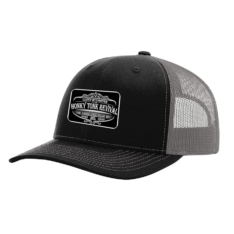 Black/Grey Trucker Hat $25