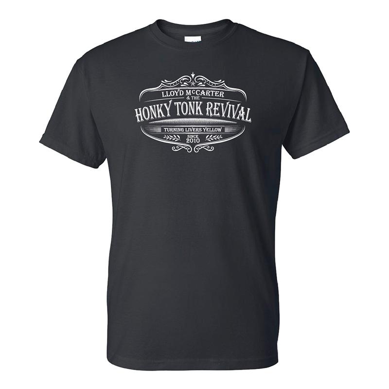Revival Black T-Shirt $20