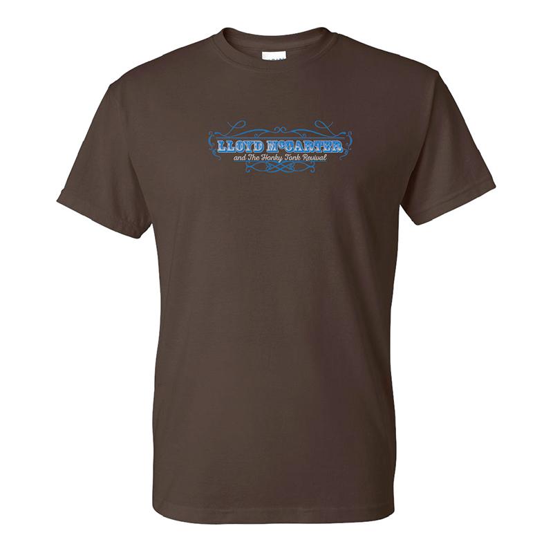 Logo Brown T-Shirt $20