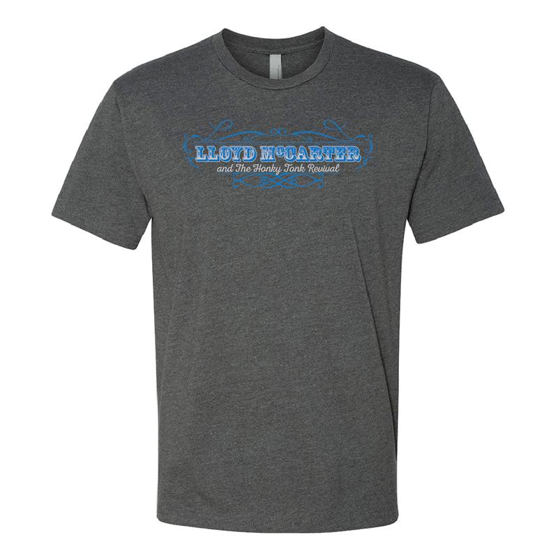 Logo Grey T-Shirt $20