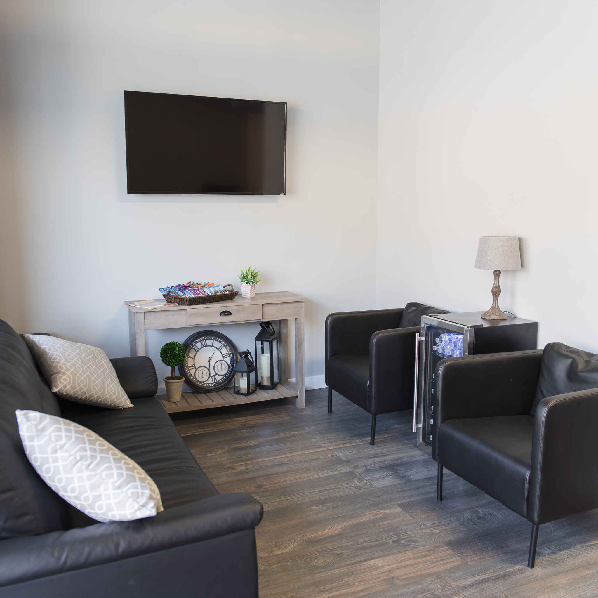 Waiting Room with Snack Bar + Best Photography Rental Spaces