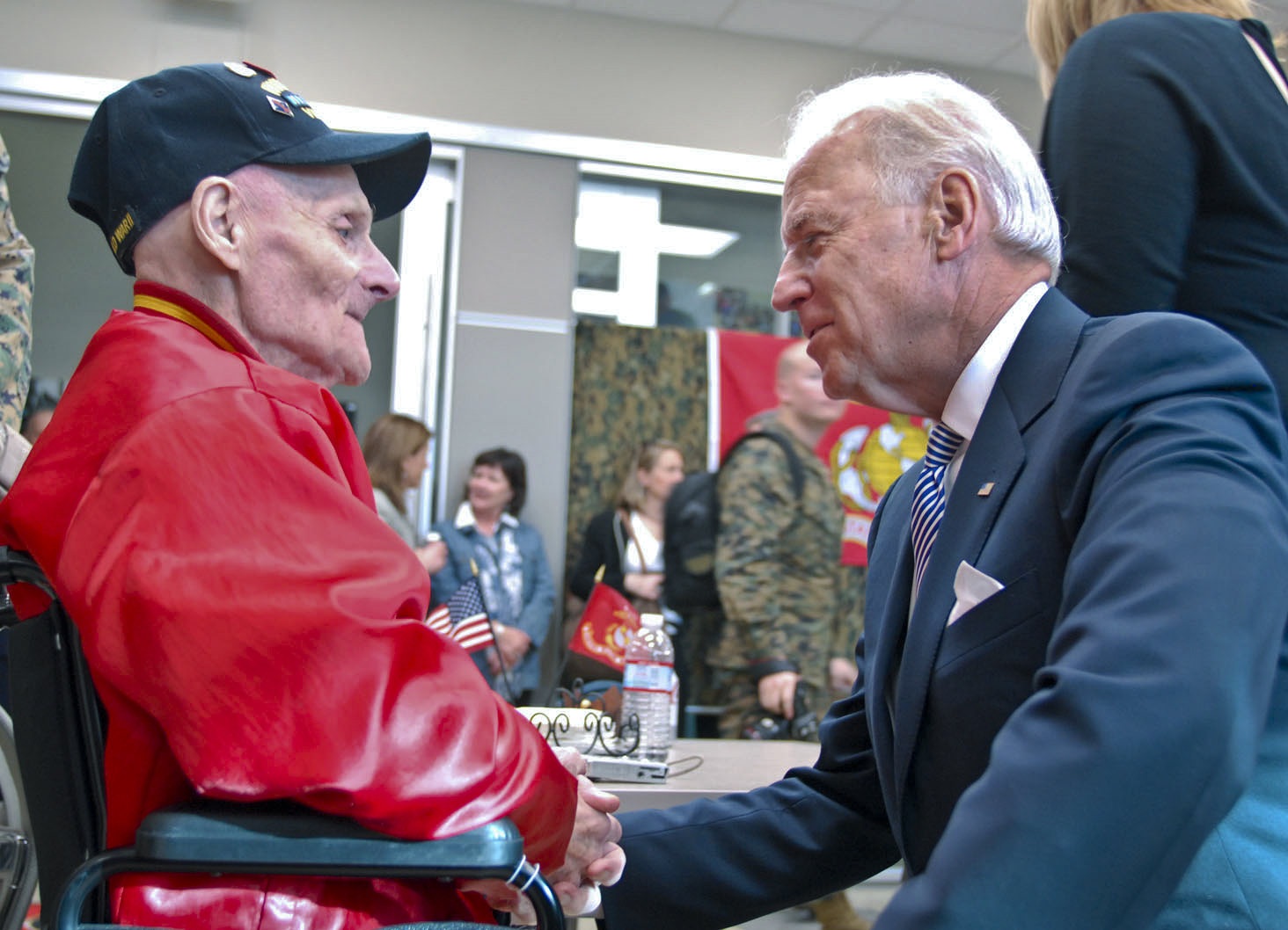 About Joe Biden - Joe Biden was the 47th vice president of the United States under President Barack Obama.  Previously, Joe Biden was a U.S. senator for the State of Delaware. Having served 36 years in the Senate, Joe Biden is the longest-serving senator in Delaware's history and, elected at 29 years of age, was the fifth-youngest senator to be to be elected in U.S. history. During his over four decades of public service, Joe Biden has tirelessly fought for our nation's veterans and military.  Click here to view an unofficial biography of Joe Biden.