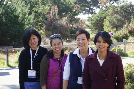 From Farms to Incubators; Director Amy Wu, and pannelists Erica Riel-Carden, Teresa Matsui, and Poornima Parameswaran