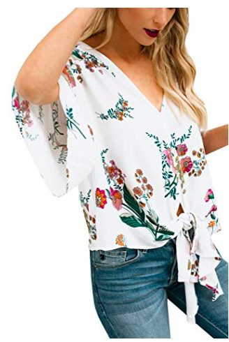Flowy and floral - the perfect combo!