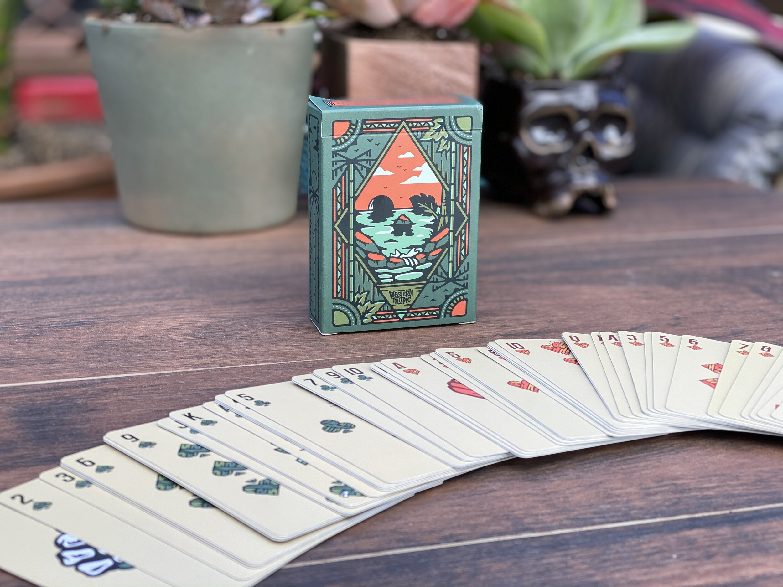 Western Tropic Playing Cards — western tropic