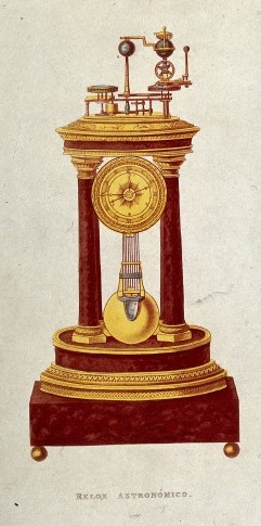 Clock 1875 / Wellcome Images