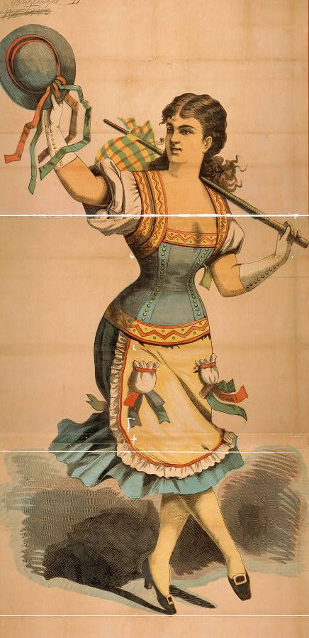 Dancing with Cane / Library of Congress