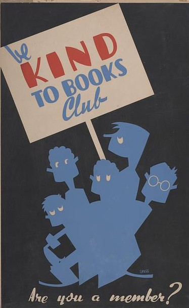 Be Kind to Books Club / Library of Congress