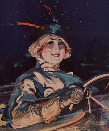 Lady Driver / Library of Congress