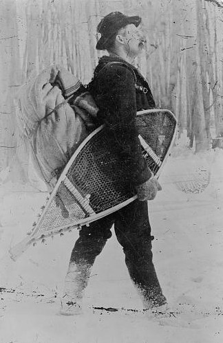 Snowshoes / Library of Congress