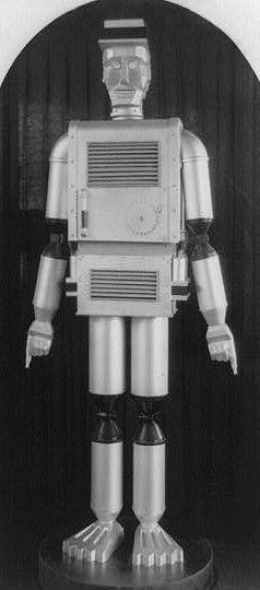 Robot Man / Library of Congress