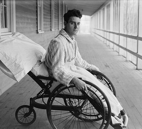 Wheelchair / Library of Congress