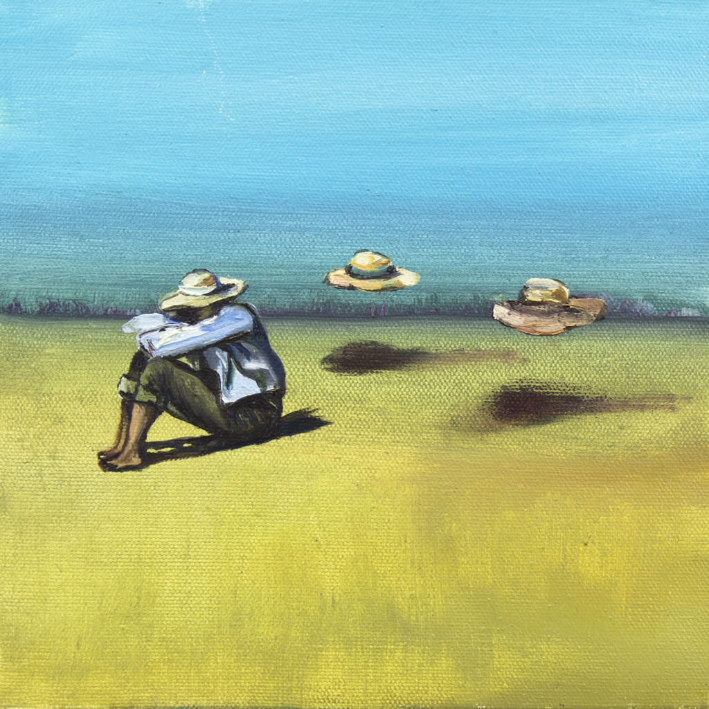 Man With Floating Hats / Michal Baksh
