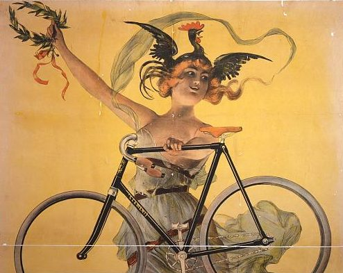 Clement Bicycle / Library of Congress