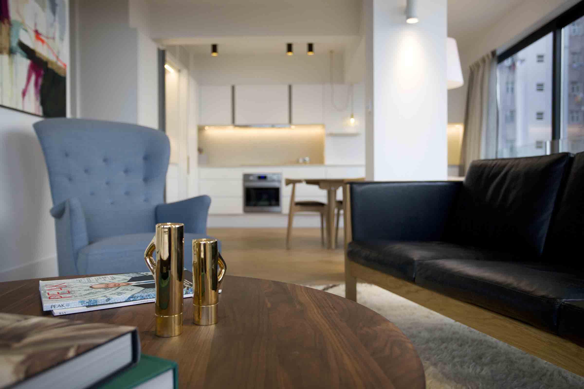 Carl Hansen furniture in a KTown apt. Image by Denice Hough-3.jpg