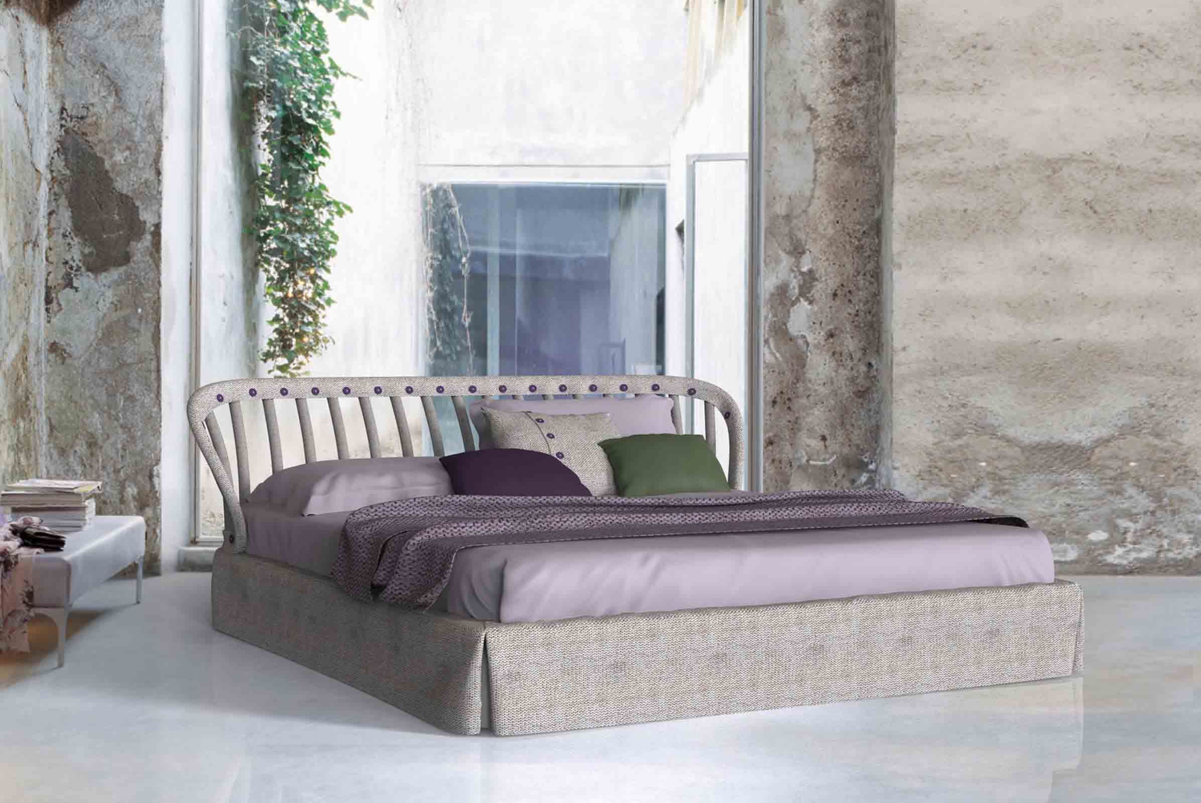 The 'Open Air' bed designed by  Meneghello Paolelli for Twils