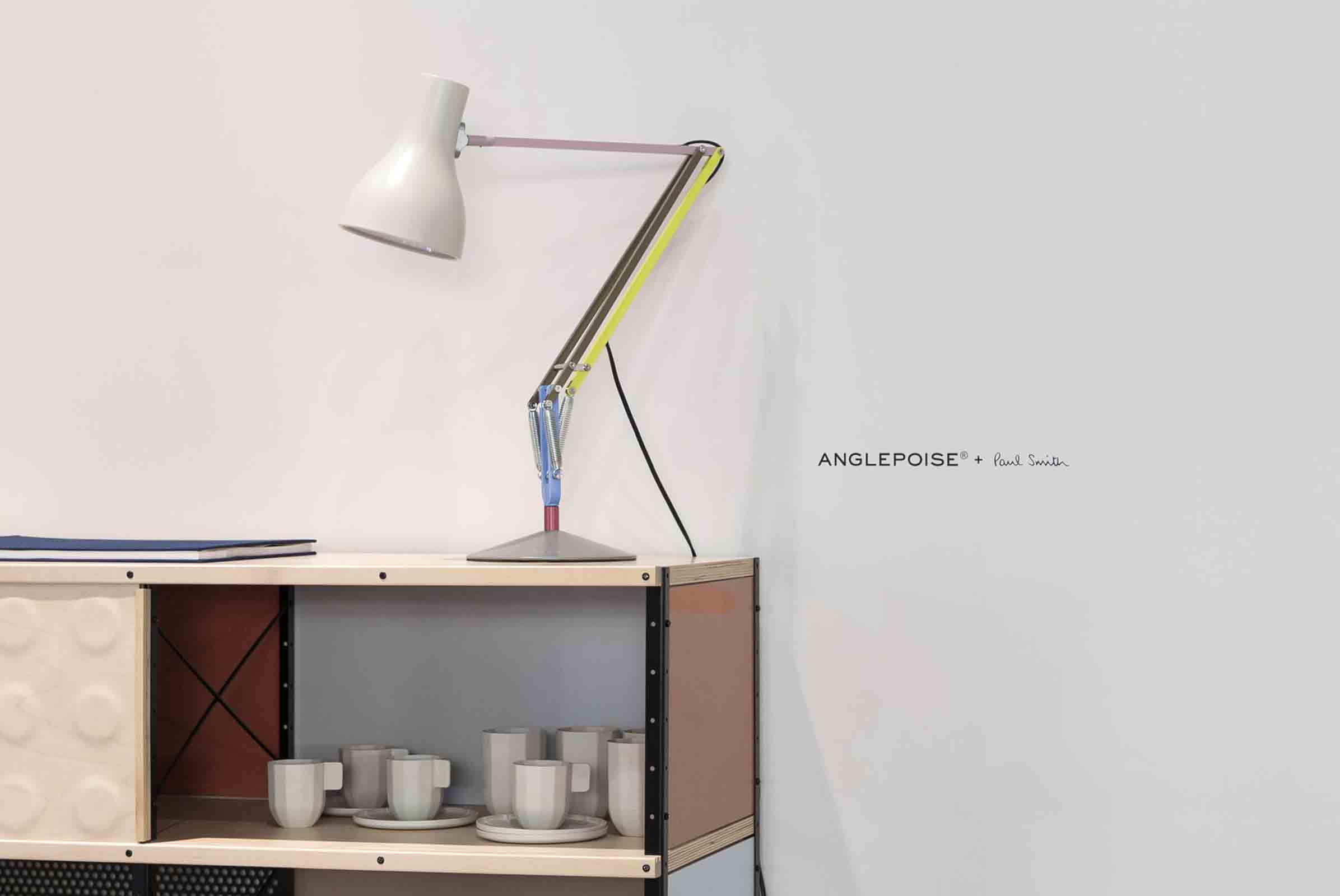A clever, and oh so British, collaboration between Anglepoise and Paul Smith