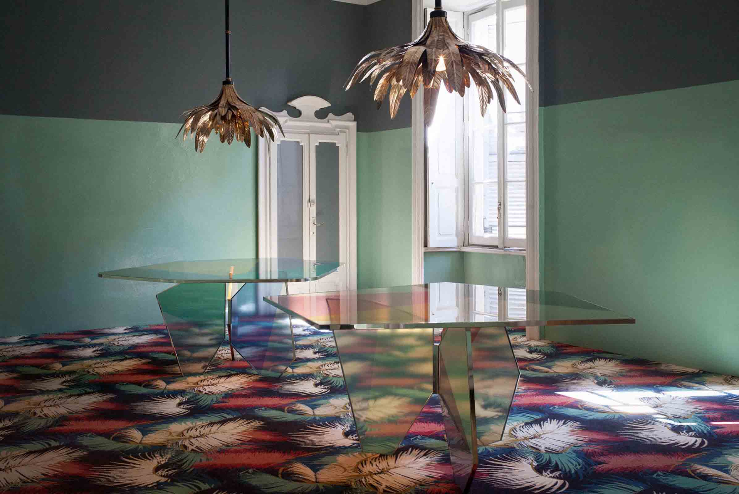 We absolutely fell for the 'Palmador' collection by Italian designers Dimore Studio