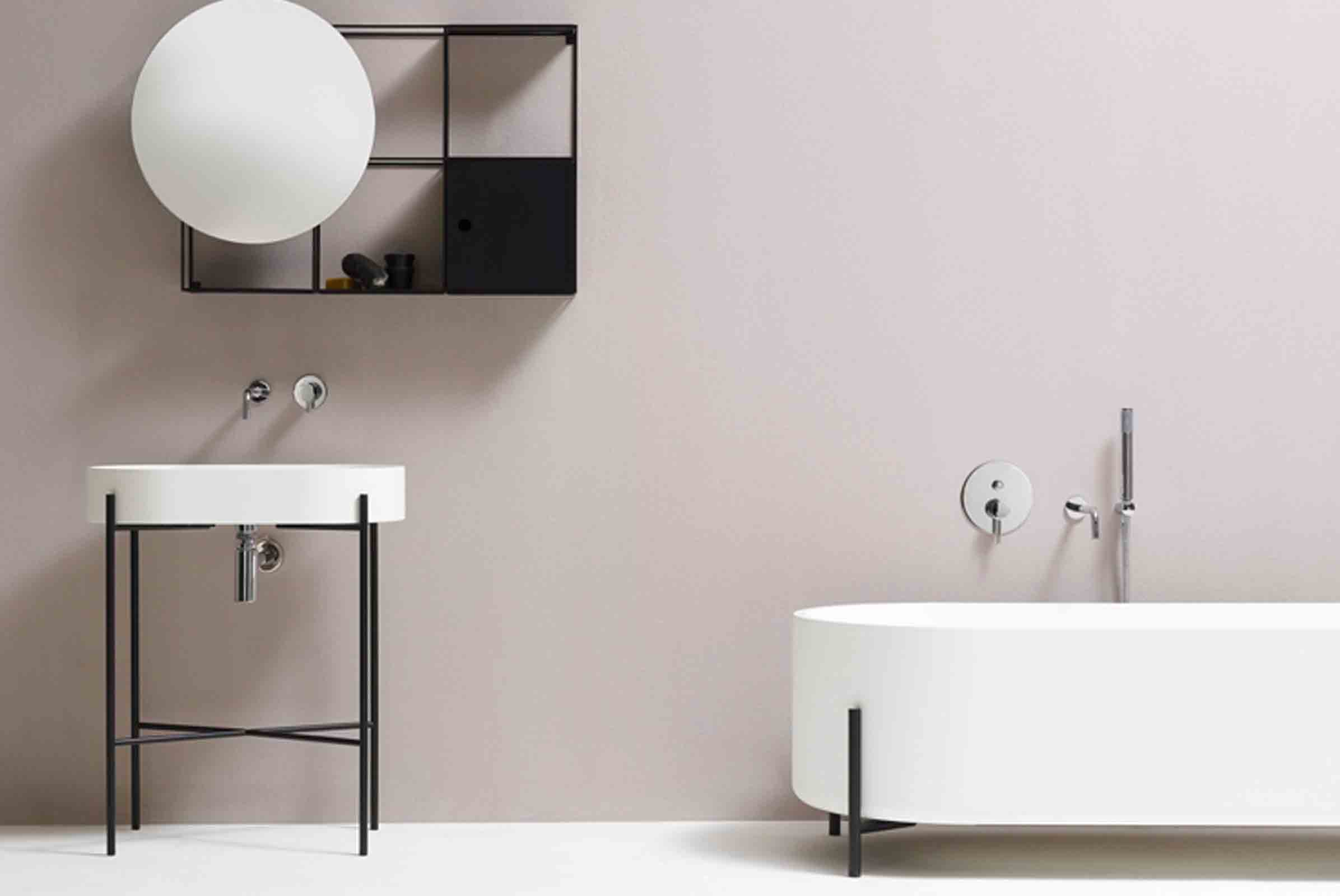 The new collection of bathroom furniture by norm architects for ex.t
