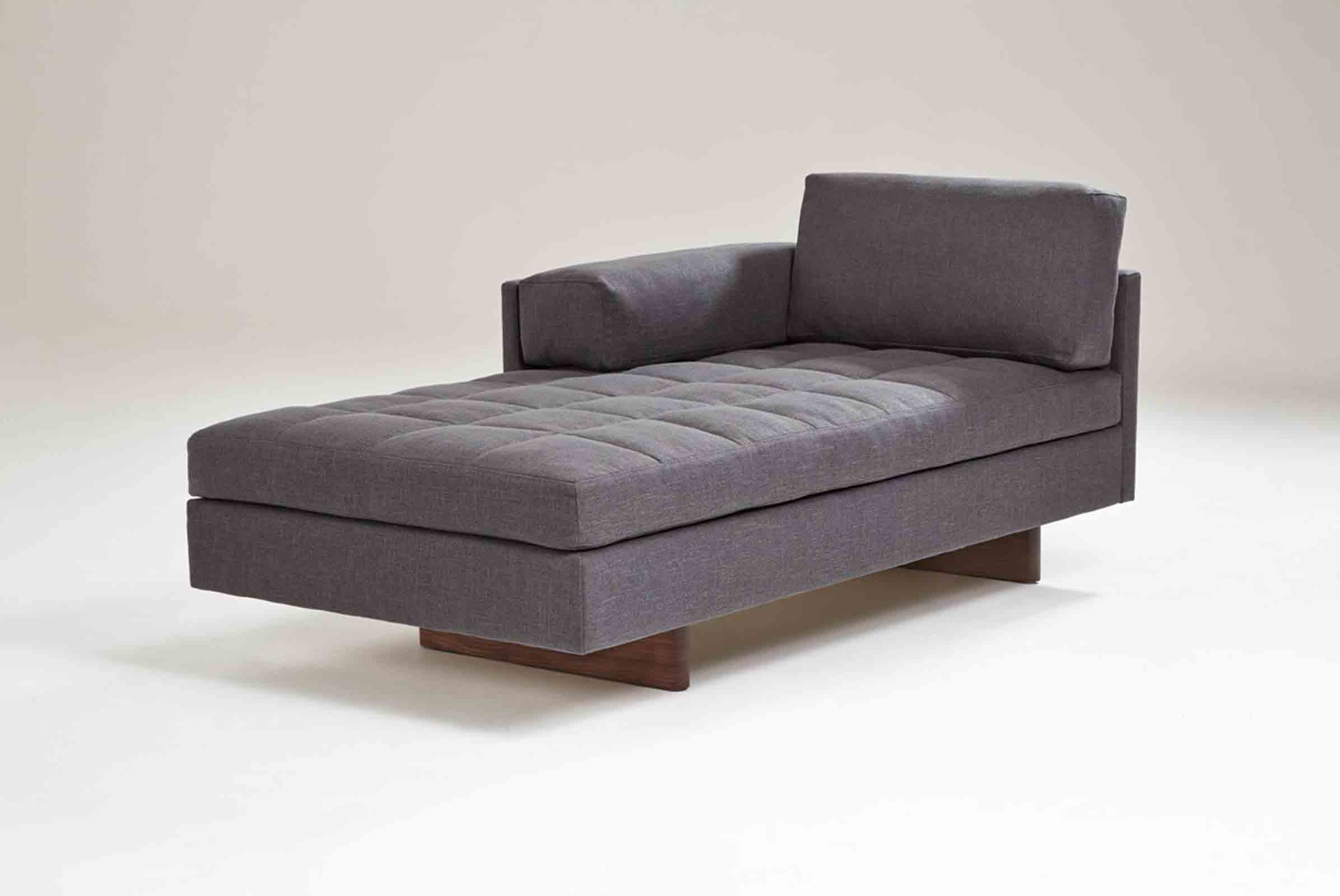 The 'Assymetric chaise' from BassamFellows