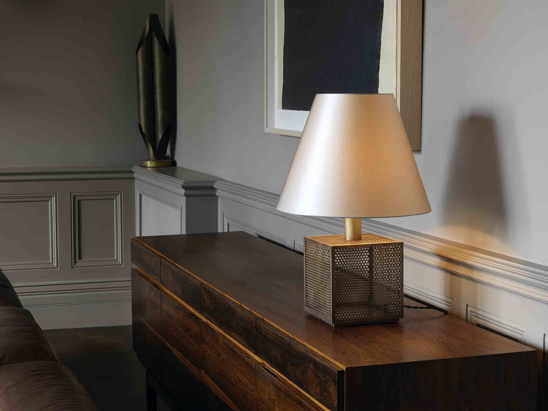 'Oblique' table lamp from CTO Lighting
