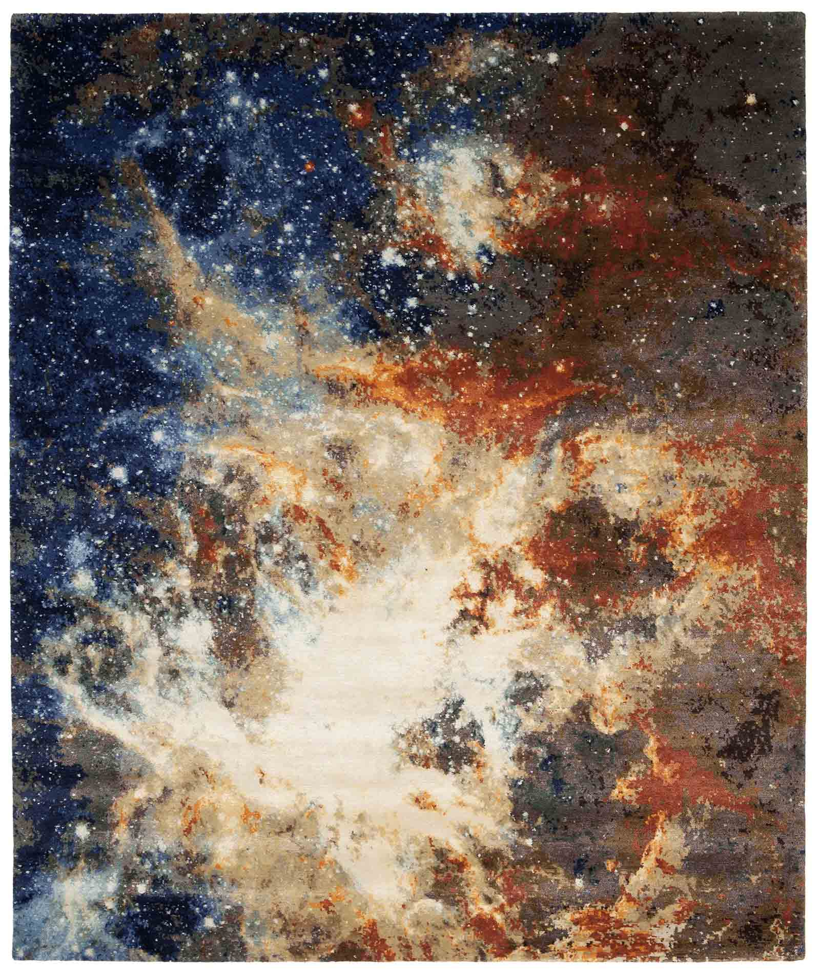 'Space 3' rug, from the Spacecrafted collection, Jan Kath