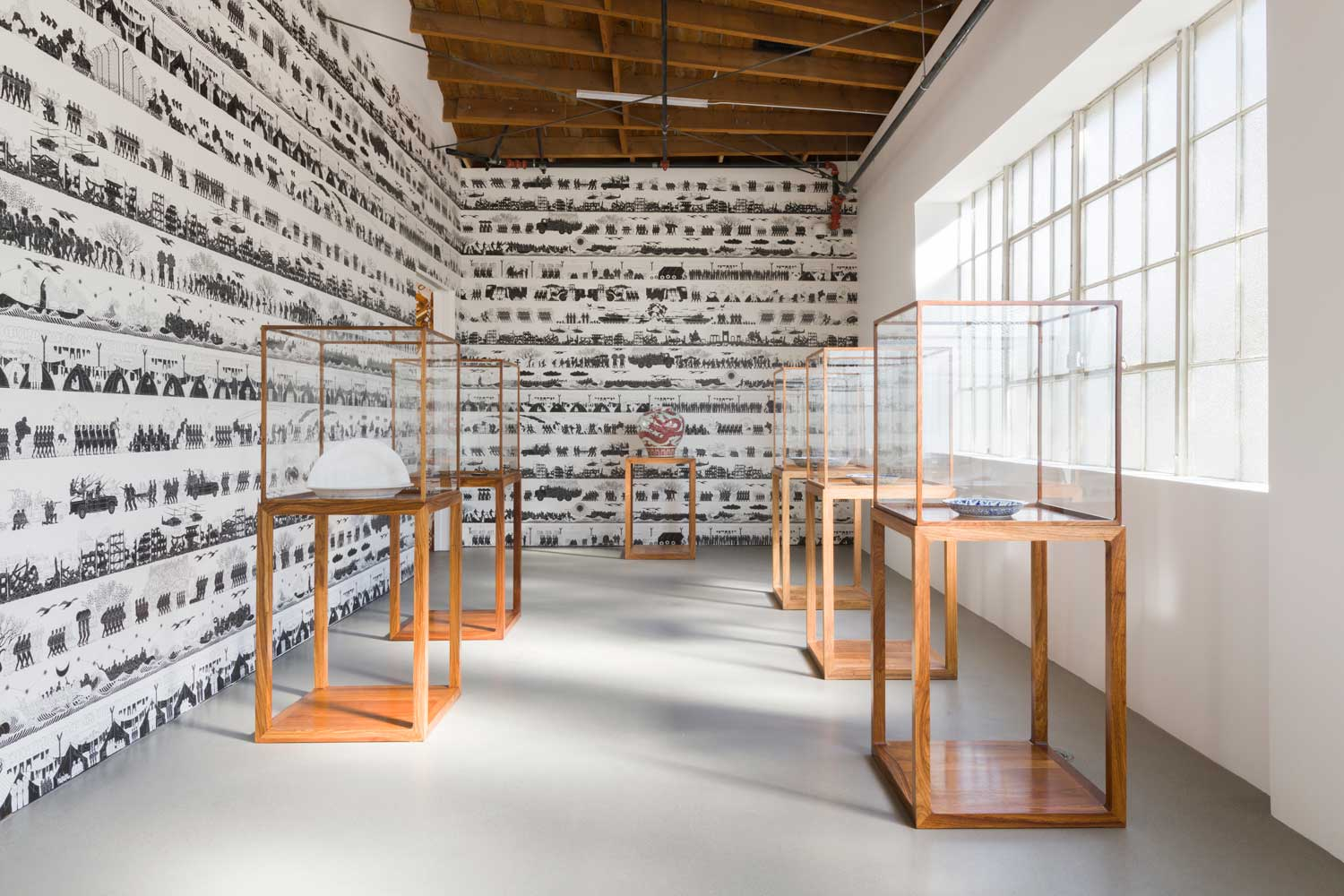 Installation view of Cao Humanity Photo by Jeff Mclane