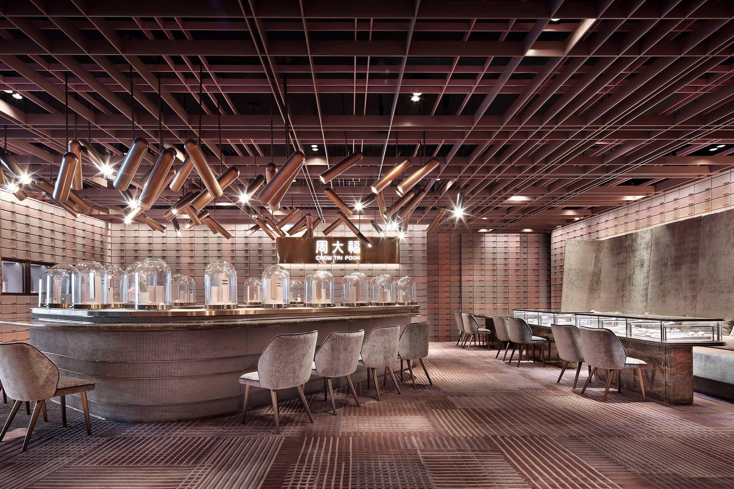 Shenzhen Chow Tai Fook Experience Shop. Image by Jiangnan Photography