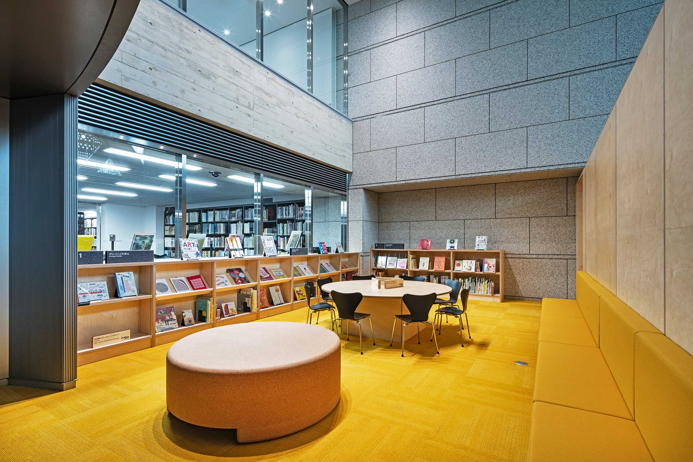 Art Library for Children. Image by Kenta Hasegawa