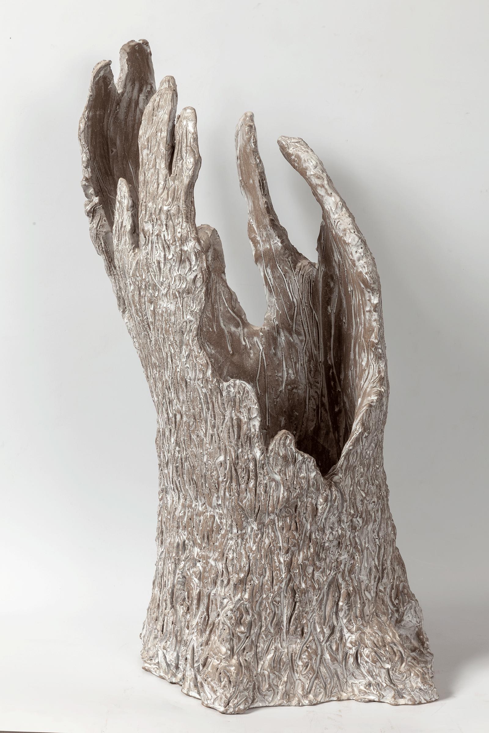 Souvenir d'une vie 2,  2015-2016. Enameled Terracotta, 70 x 40 x 40 cm