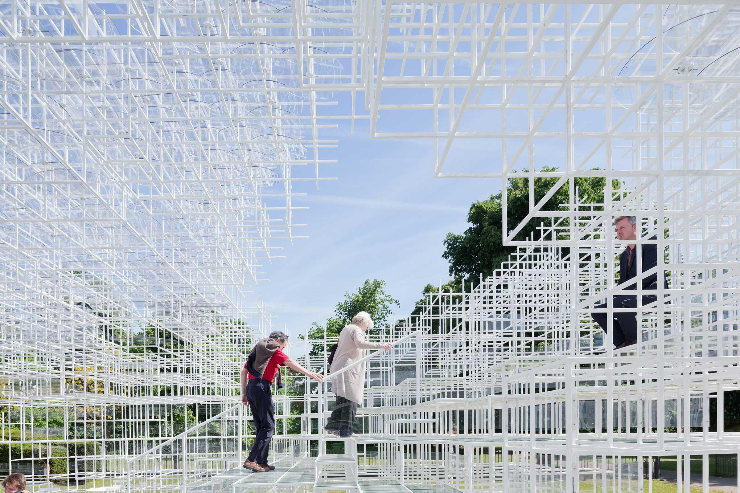 Serpentine Gallery Pavilion 2013. Image by Iwan Baan