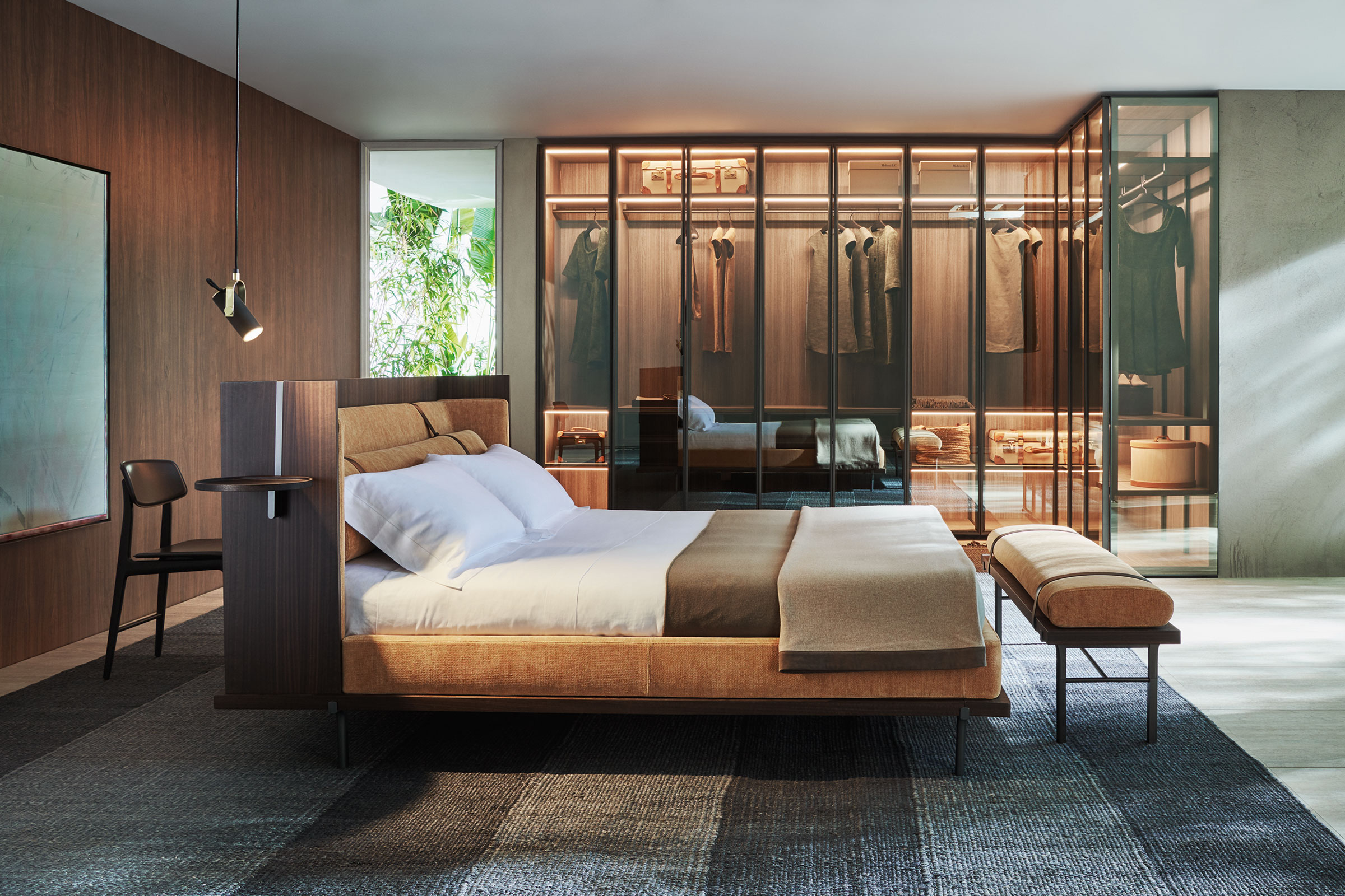 The Twelve A.M bedroom collection for Molteni&C