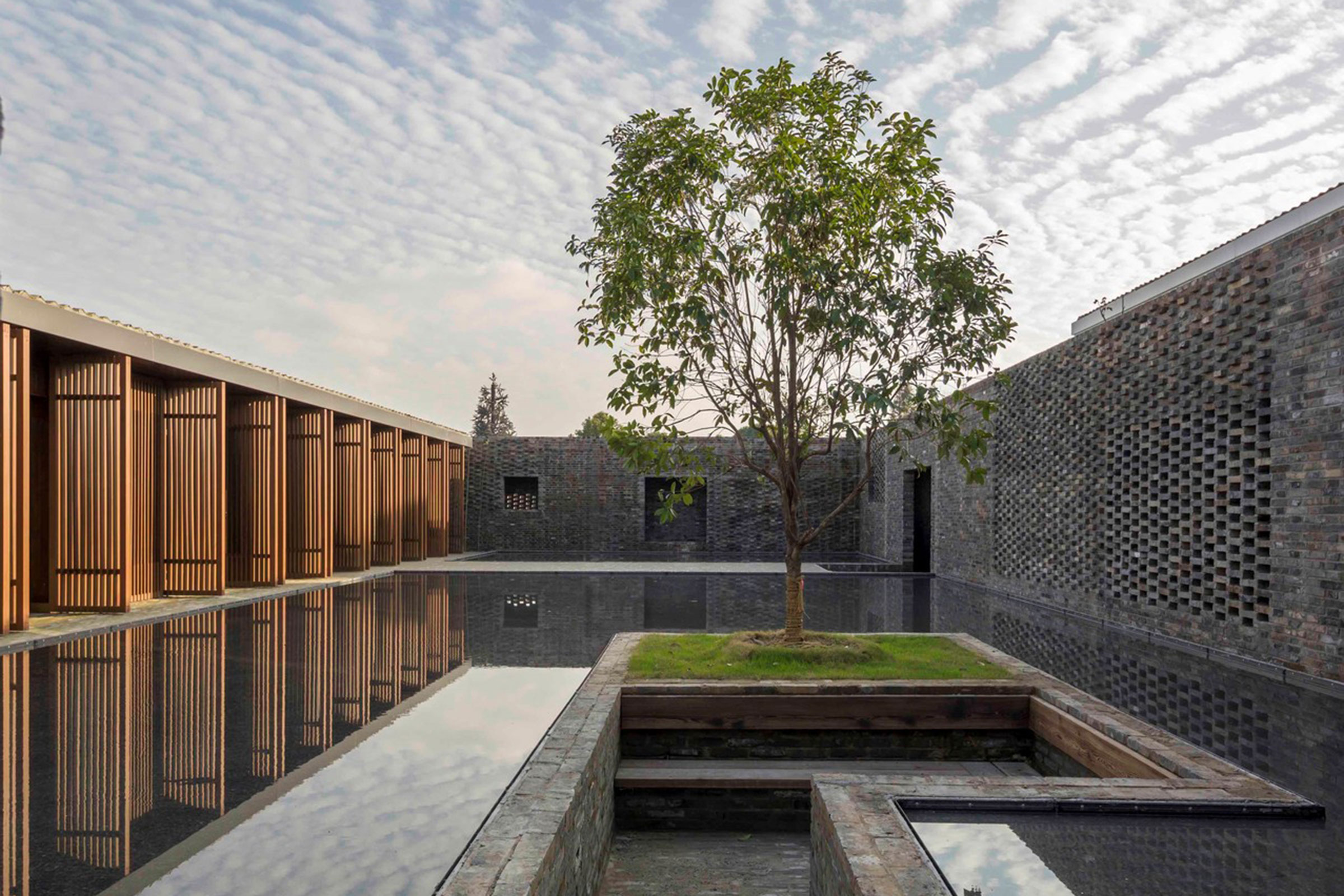 The studio is behind the design of Tsingpu Yangzhou Retreat, a member of Design Hotels. Image by Pedro Pegenaute