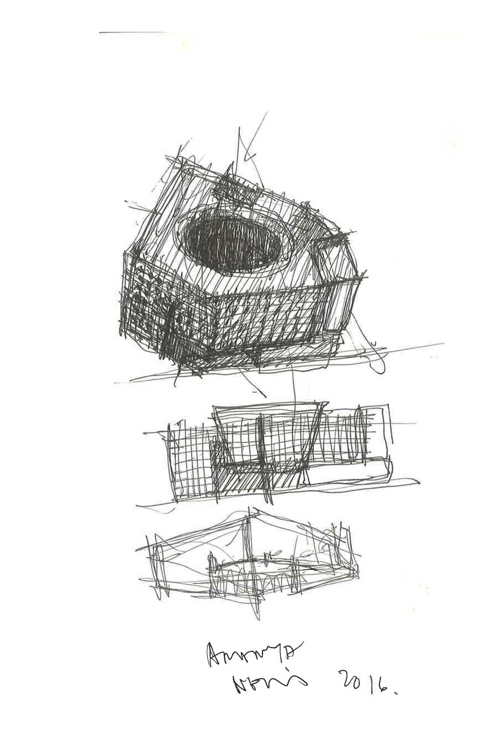 Neri's design sketches