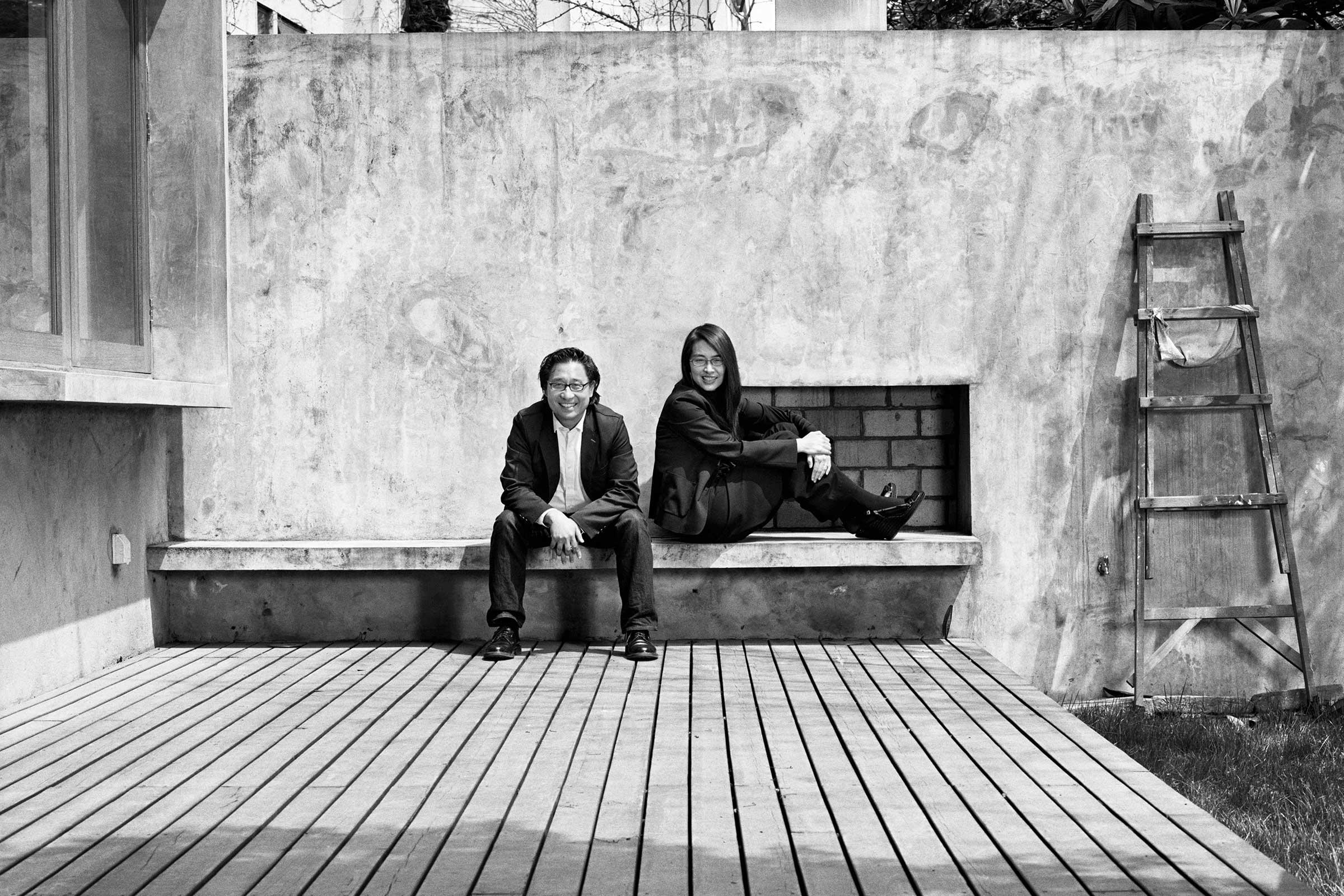 Lyndon Neri and Rossana Hu. Image by Andrew Rowat