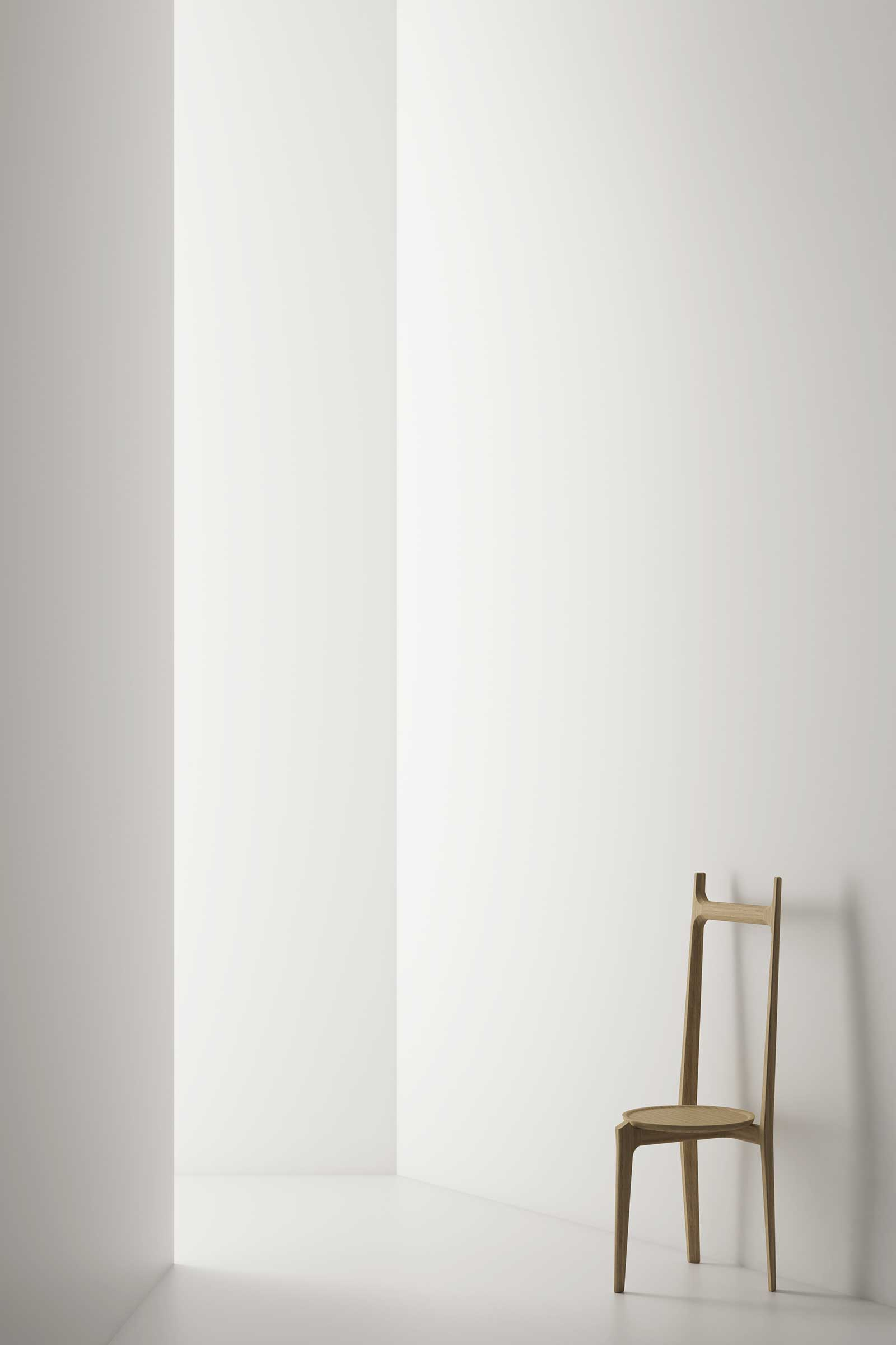 The Taylor collection for Stellar Works was among one of the studio's ranges launched at Salone del Mobile this year. Pictured here is the Taylor valet
