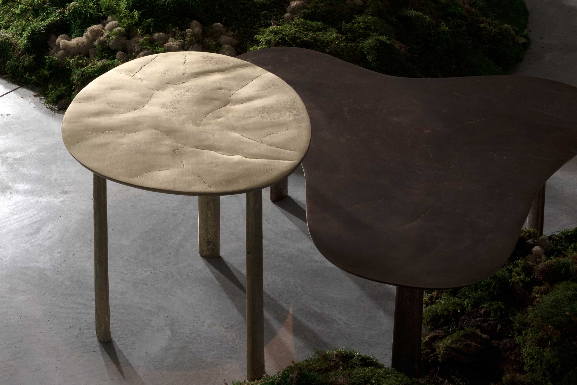 The Puddle coffee table is part of Yabu Pushelberg's second collection with Italian furniture brand Henge