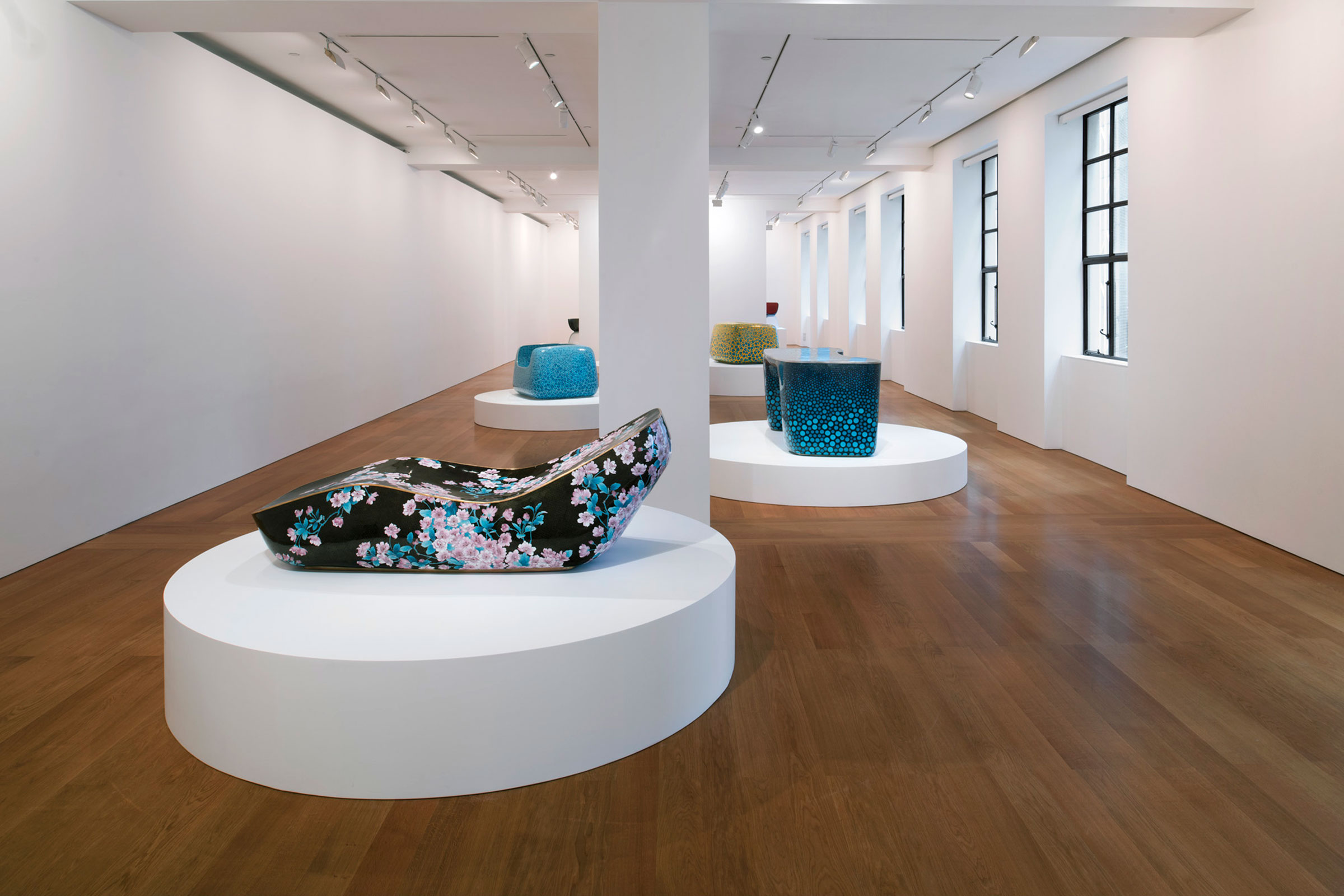Installation view, Marc Newson at Gagosian Hong Kong, 23 May–27 July, 2019. Image courtesy of Gagosian