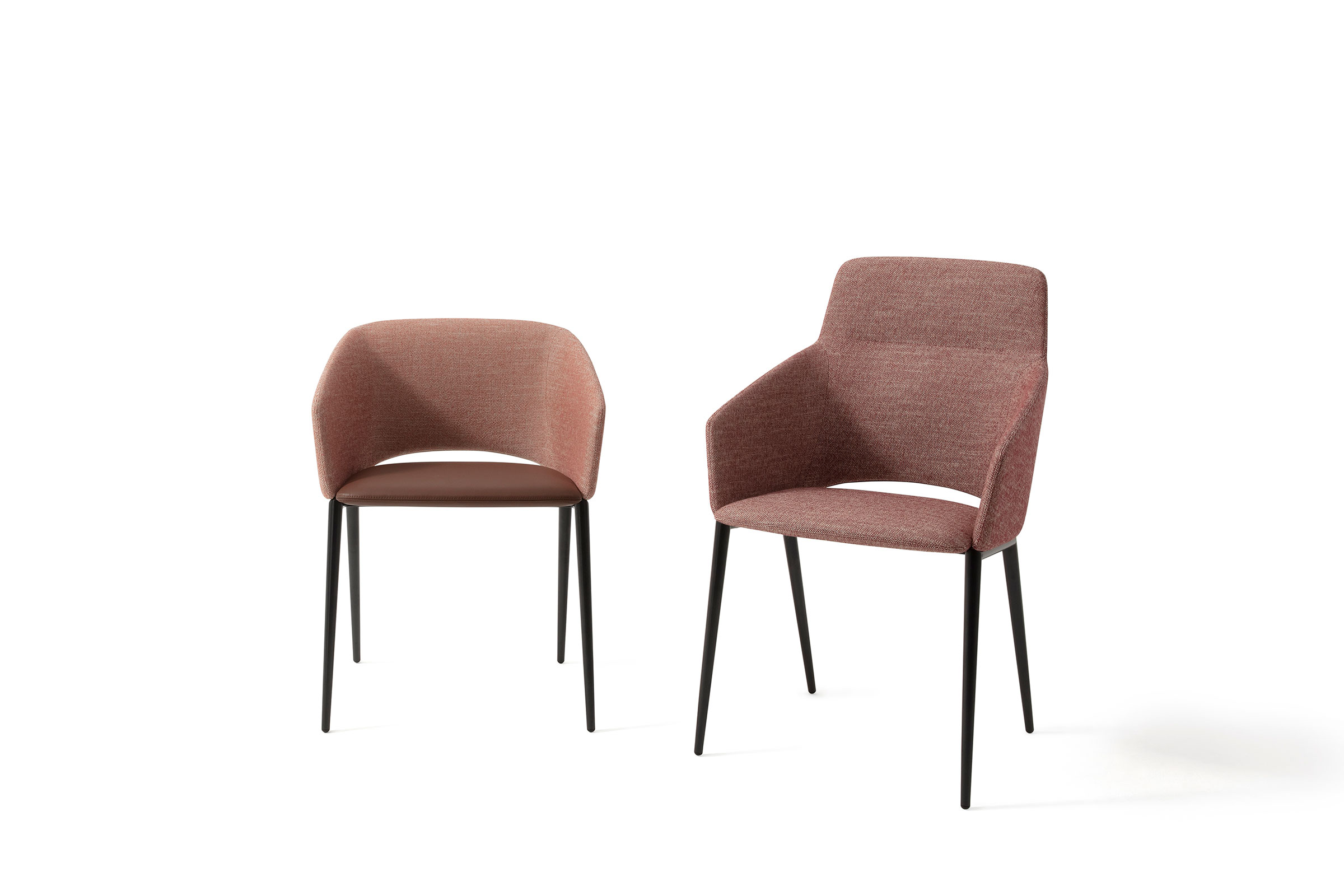 Rodolfo Dordoni's Tusa armchairs. Image courtesy of Zanotta